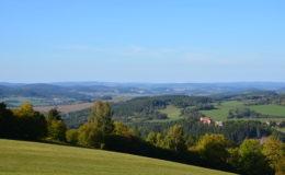 I méně známé šumavské kopce poskytují skvělý výhled