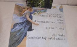 Kniha Šumavské tajemství nacistů získala ocenění na Šumava litera 2019